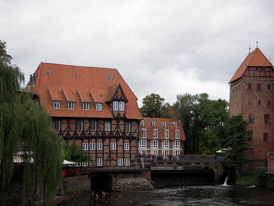 City of Lueneburg in Germany