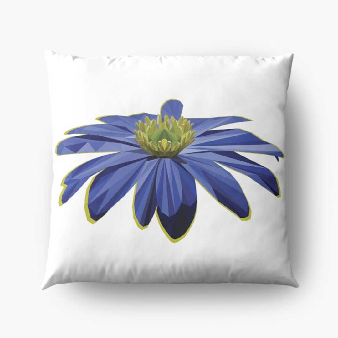 low-poly-anemone-pillow-design