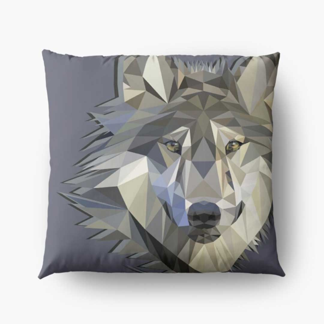 low-poly-wolf-design-pillow